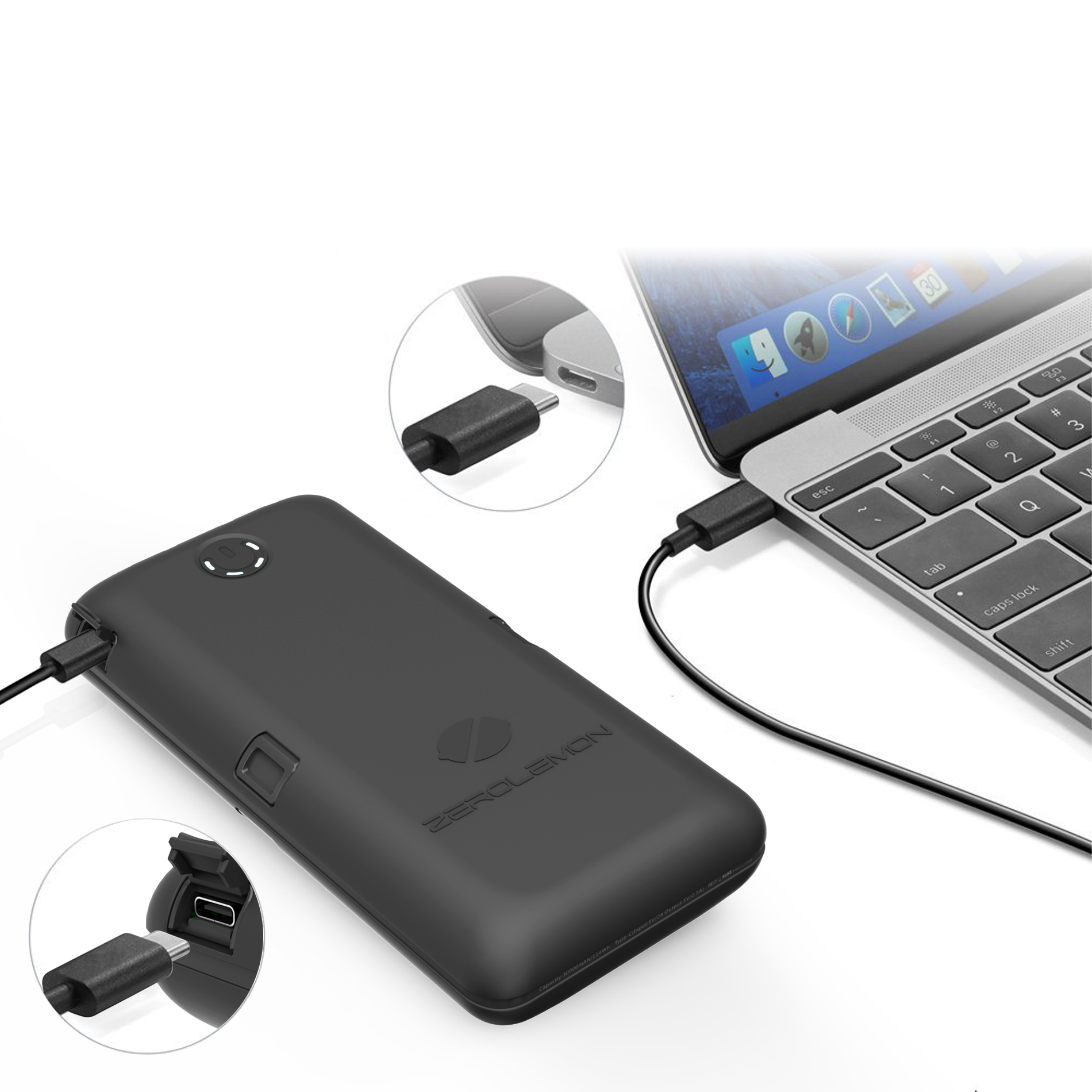 USB-C/Type-C 30000mAh ToughJuice